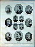 ANNALES POLITIQUES ET LITTERAIRES (LES) du 05/03/1899 - LES PORTRAITS DU JOUR - M. JULES LEMAITRE - M. FRANCOIS COPPEE - M. FERDINAND BRUNETIERE - M. YVES GUYOT - M. PAUL DEROULEDE - M. MARCEL HABERT - M. LASIES - M. MILLEVOYE - M. MAURICE BARRES - M. DUCLAUX - M. TRARIEUX - M. FRANCIS DE PRESSENSE - LES LIGUES - LIGUE DE LA PATRIE FRANCAISE (F. COPPEE, J. LEMAITRE, F. BRUNETIERE, M. BARRES). - LIGUE DES DROITS DE L'HOMME (TRARIEUX, DUCLAUX, YVES GUYOT, DE PRESSENSE)