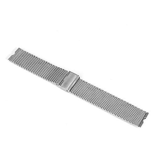 Aohro 22 mm Acero Inoxidable Correa de Reloj Band para Motorola Moto 360 SmartWatch Reemplazo Pulsera Venda Watchband con Instalación de herramientas - ( Malla metal - plata )