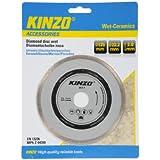 Kinzo 71766 Disque diamant sciage humide pour céramique/marbre/porcelaine 125 mm