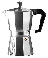 Verna VE03012 12-Cup Verna Aluminum Stove Top Espresso Coffee Maker