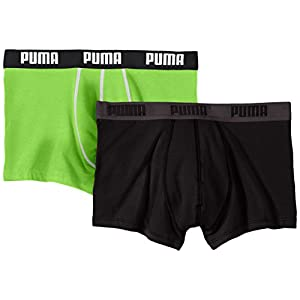 Puma Herren Bodywear Basic Shortboxer, 2er Pack
