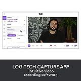 Logitech Brio Gaming 4K Webcam (Streaming Edition HD Webcam 1080p, 12-monatige Premium-Lizenz XSplit enthalten) schwarz - 7