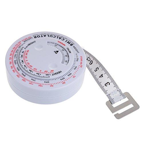 CREN® BMI Body Mass Index Roll-Tape Dosierer Test Taschenrechner Body Ernährung Gewicht Verlust