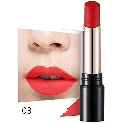 Fortan Sexy idratante Long Lasting impermeabile rossetto opaco trucco Glossy Lip Gloss - C