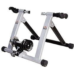 Homcom Rollen/Heim-trainer Fahrrad Rennrad Zubehör NEU, Silber, 5661-0059