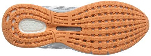 adidas Unisex-Erwachsene Questar Laufschuhe Grau (Mid Grey/light Solid Grey/easy Orange)