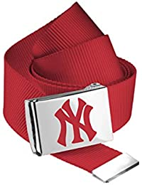 MasterDis MLB Premium Woven Belt Single Gürtel Red