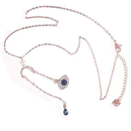 (Qian Fei QF Mode New Devil's Eye Damen Halskette Halloween Mode Kreative Anhänger (Farbe : 1))