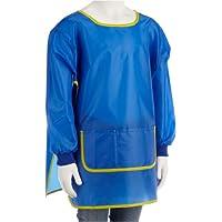 Idena 611185 - Delantal para manualidades (de 7 a 8 años), color azul [Importado de Alemania]
