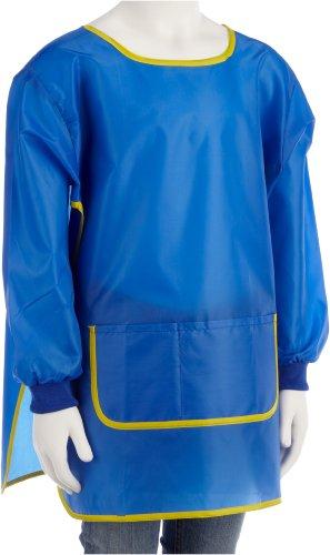 Idena 611185 - Bastelschürze Alter 7-8 Jahre, blau (Lust Kleidung Kind)