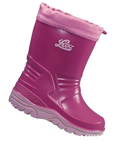 Lico Punto, Stivali di Gomma Bambina Rosa (Pink/rosa)