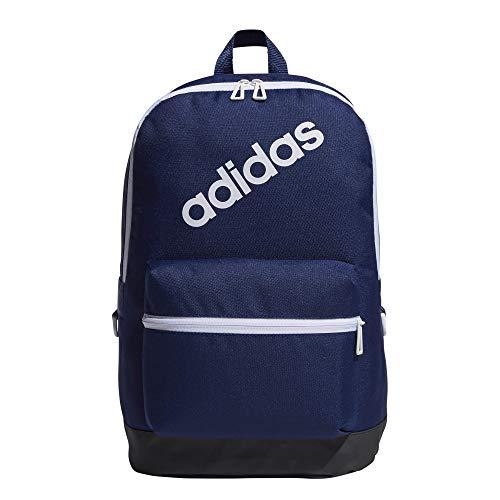 Adidas Daily, Zaino Uomo, Dkblue/Carbon/White, 47 x 37 x 5 cm