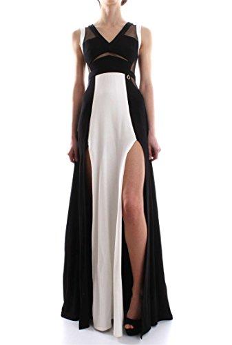 MANGANO ABITO REEVES (40 - NERO-GESSO) 9000009099853 abbigliamento dautore moda donna uomo