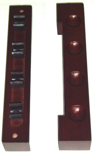 nice-atractive-mahagony-finish-wooden-4-way-2-piece-cue-rack-by-bce