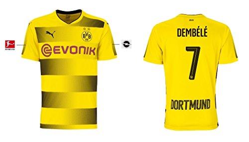 Trikot Herren Borussia Dortmund 2017-2018 Home - Dembele 7 (XXL)