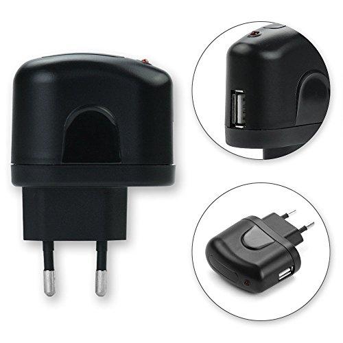 USB Ladeadapter (220V - 240V) für Samsung SGH-G810 / GT-M7500 Emporio Armani / GT-i8510 INNOV8 / GT-M7600