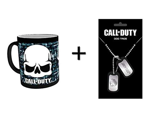 Call of Duty Zaubertasse + Dog Tags - Of Duty Call Dogtag