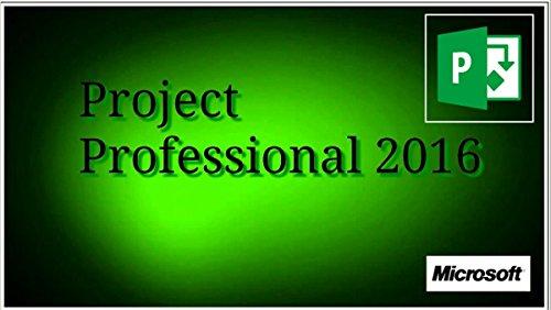 Microsoft Office Project 2016 Professional 1PC Original Vollversion 32/864-BitVollversion -