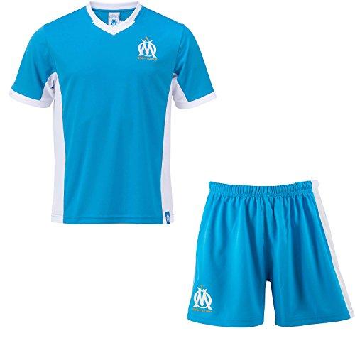 Maillot + short OM – Collection officielle Olympique de MARSEILLE – Taille  enfant garçon 2575a1e16b7