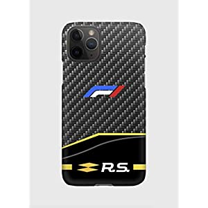 F1 carbon Renault Handyhülle passt iPhone 11, 11 pro, 11 pro max, XS, XS max, XR, 8, 8 +, 7, 7+, 6, 6+, 5.