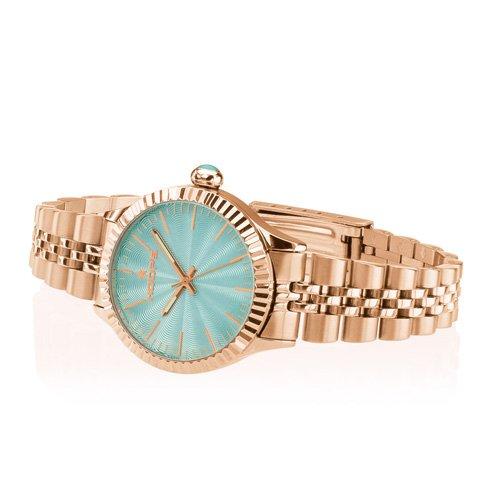 Uhr Damen Luxury Gold Tiffany 2560lg-09–Hoops