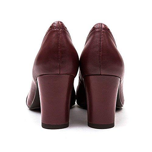 Hush Puppies en cuir Kennedy Anya Chaussures NOIR Cour, Mary Janes, chaussures de travail et uniforme Noir - noir