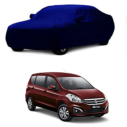 MotRoX Car Body Cover For Maruti Suzuki Ertiga with Side Mirror Pocket (Navy Blue)  available at amazon for Rs.1036