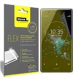 dipos I 3X Schutzfolie 100prozent passend für Sony Xperia XZ2 Premium Folie (Vollständige Bildschirmabdeckung) Bildschirmschutzfolie
