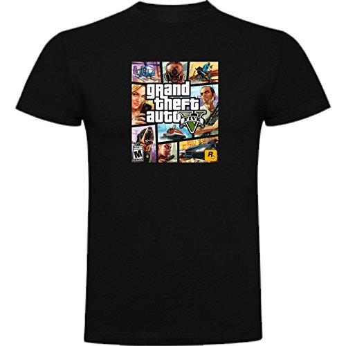 Camiseta de NIÑOS Grand Theft Auto Retro Gamer Friki Juego Consola GTA 9-10 Años