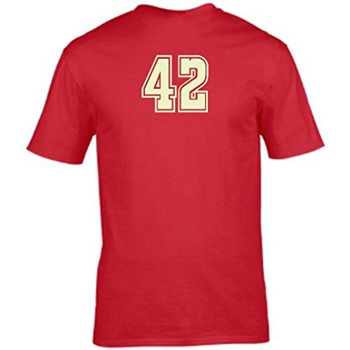 S Tees Herren T-Shirt Rot - Rot