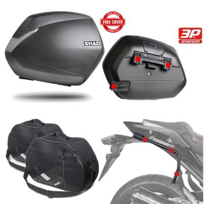 SHAD   SH36BOHE4/359 : Kit fijaciones maletas laterales
