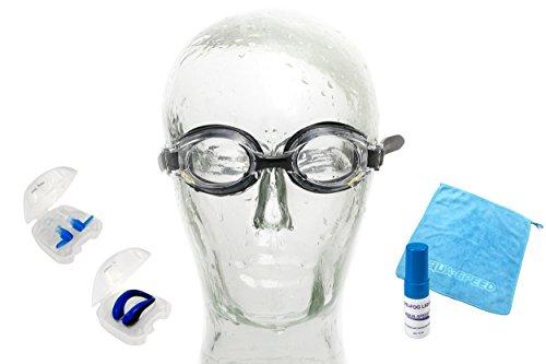 Aqua Speed Lumina Schwimmbrille mit Sehstärke/Dioptrien: linkes & rechtes Glas individuell wählbar...