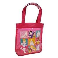 Disney Princess Canvas and Beach Tote Bag, 22 cm, Pink