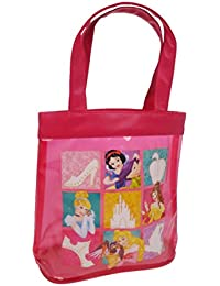 Disney Princess Canvas and Beach Tote Bag, 22 cm, Pink