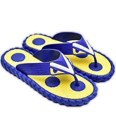 Sandalen Damen Stiefel Winter Casual Keil Ferse Feder Sandalen Pantoffeln US11.5 / EU45 / UK10.5 / CN47