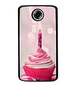 Fuson Designer Back Case Cover for Motorola Nexus 6 :: Motorola Nexus X :: Motorola Moto X Pro :: Google Nexus 6 (cake candles candlelight dinner romance)