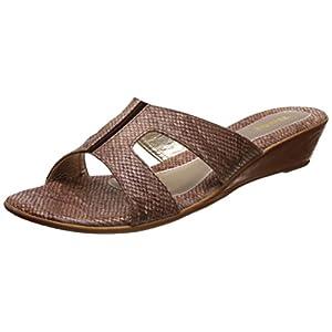 Bata Women's Reptile Mule Slippers