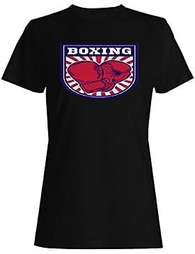 Boxeo Box Hombre Vs Club camiseta de las mujeres m685f