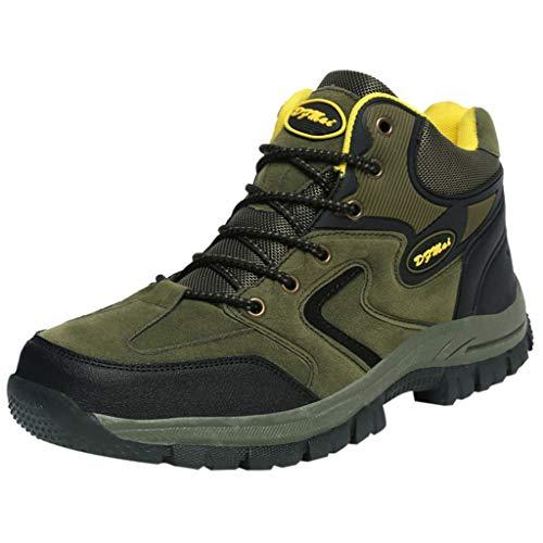 Selou Sneakers da Uomo, Autunno E Inverno da Uomo Outdoor Fly Knit Sneaker in Mesh Leggero Scarpe da Corsa per Escursionismo All'Aperto Traspiranti