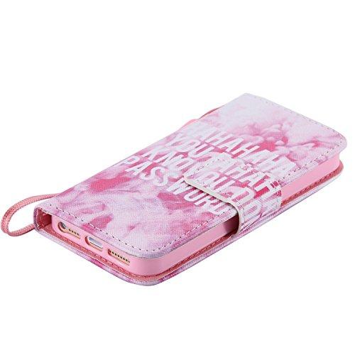 PU Silikon Schutzhülle Handyhülle Painted pc case cover hülle Handy-Fall-Haut Shell Abdeckungen für Smartphone Apple iPhone 5 5S SE +Staubstecker (W1) 13