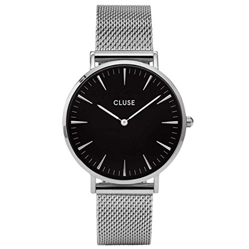 Cluse-Unisex-Armbanduhr-Analog-Quarz-Edelstahl-CL18106