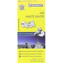 Carte Ain, Haute-Savoie Michelin