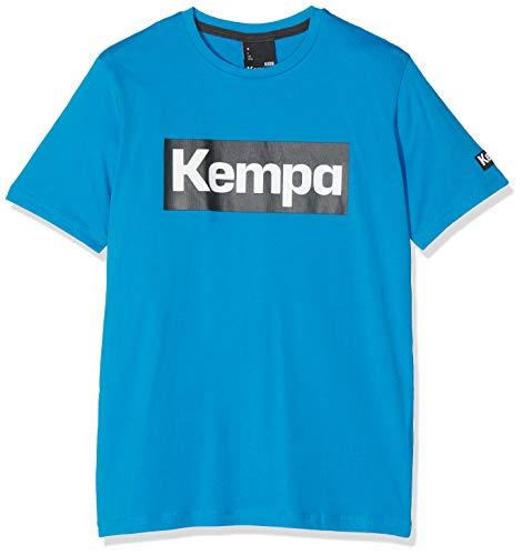 FanSport24 Kempa Promo T-Shirt, Kinder, hellblau Größe 164