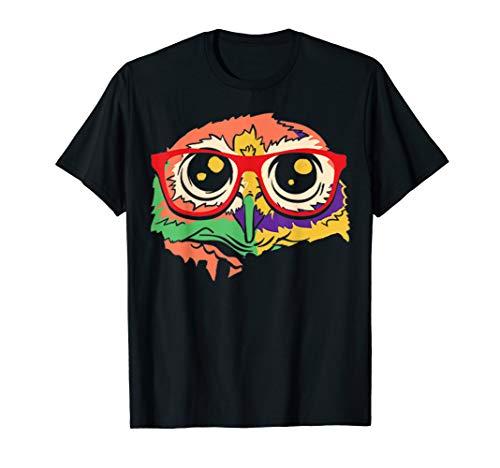 Frauen Genie Kostüm - Eulen Genie Spaß Kostüm Süßes Lustiges Halloween Outfit T-Shirt