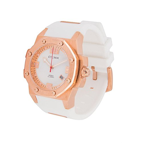 Otumm Classic Speed CLRG41003 41mm Rose Gold Weib Armband Unisex Uhr