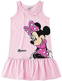 Disney Minnie Fille Robe - rose