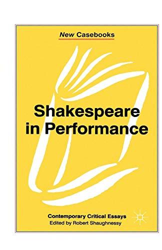 Shakespeare in Performance PDF Books