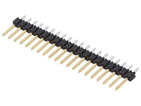 MX-90120-0940 Pin header pin strips male PIN20 2.54mm THT C-Grid