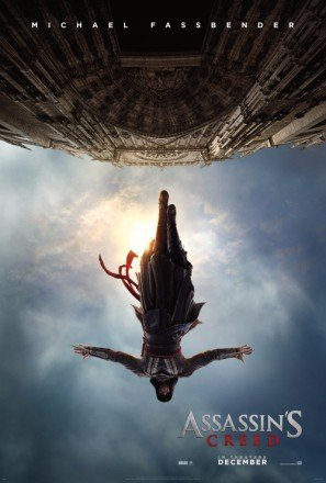 ASSASSINS-CREED-Michael-Fassbender-US-Imported-Movie-Wall-Poster-Print-30CM-X-43CM-Brand-New