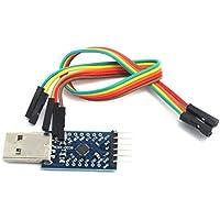 WINGONEER® CP2104 serie convertidor de USB 2.0 a TTL UART Módulo compatible con 6PIN y mejor que CP2102